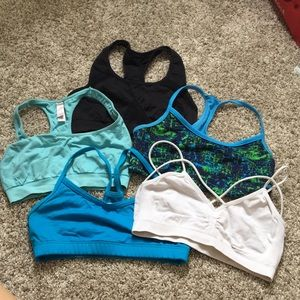 Bundle of 5 Small Sports Bras